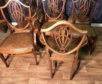 Quality Set of Eight Mahogany Dining Chairs (18 of 18)