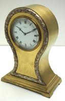 Impressive Ormolu Edwardian Balloon Timepiece Mantel Clock by Preston's Bolton (4 of 11)