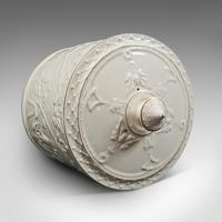 Antique Stilton Dome, English, Ceramic, Cheese Keeper, Cracker Plate, Victorian (6 of 12)