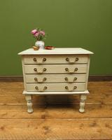 Small Gustavian Style Painted Chest, Crafting Chest of Drawers (9 of 15)