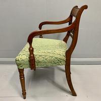 19th Century Regency Carver Armchair (4 of 5)