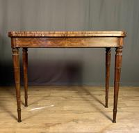 Superb French Rosewood Fold-over Top Card Table (2 of 14)
