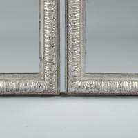 Fabulous Pair of 19th Century French Silvered Overmantle  Mirrors (5 of 8)