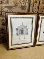Pair of Framed Architectural Prints (2 of 5)