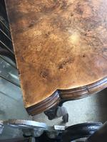Serpentine Walnut Card Table (8 of 12)