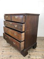 Antique Georgian Oak Chest of Drawers (7 of 10)