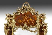 Large Giltwood & Vernis Martin Mirror by Louis Majorelle from the Dutch Royal (3 of 5)