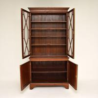 Antique Georgian Period Mahogany Library Bookcase (5 of 10)