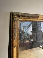 Small Antique Gilt Mirror (5 of 6)