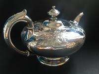 Superb Antique Victorian Silver Circular Teapot - 1846 (4 of 6)