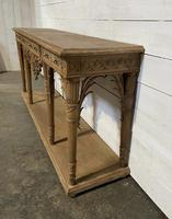 Wonderful French Walnut Console Table (7 of 36)