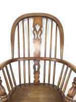 Late Victorian Ash & Elm Windsor Armchair (3 of 7)
