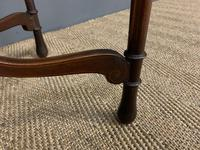 Fine Quality Oval Inlaid Mahogany Occasional Table (4 of 16)