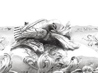 Sterling Silver Tea Caddy - Antique George III 1762 (8 of 12)