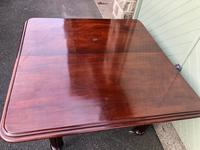 Antique Mahogany 3 Leaf Extending Dining Table (11 of 12)