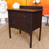 Arts & Crafts Oak Chest of Drawers (4 of 12)