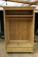Fabulous & Large Old Pine 'Knock Down'  Double Wardrobe (14 of 15)