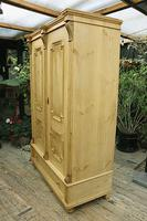 Fabulous & Large Old Pine Double 'Knock Down' Wardrobe - We Deliver! (15 of 18)