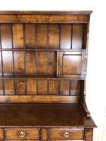 Large 20th Century Georgian Style Oak Dresser (5 of 23)