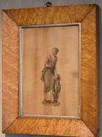 Georgian Neoclassical Drawing on Wood (3 of 6)