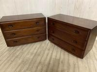 Pair of Ercol Elm Chest of Drawers (5 of 5)