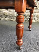 Antique Walnut Wind Out Extending Dining Table (3 of 13)