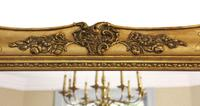 Antique Large Quality 19th Century Gilt Wall Mirror Overmantle (3 of 10)