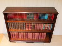 Large Oak Open Bookcase (9 of 9)