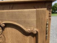 French Bleached Oak Side Cupboard (11 of 16)