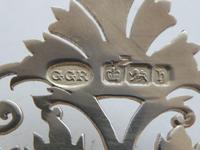 Sheffield 1900 Hallmarked Solid Silver Nurses Belt Buckle George Guirron Rhoden (6 of 8)