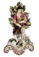 Antique Pair of Samson Porcelain Figural Groups c.1870 (6 of 10)
