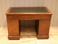 Late 19th Century Burr Walnut Pedestal Desk (11 of 11)