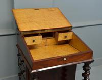 William IV Flame Mahogany Davenport Desk (6 of 18)