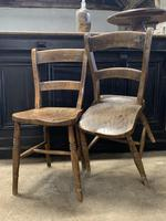 Pair of Victorian Children's  Chairs (3 of 4)