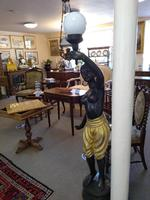 Pair of Bronze Blackamoor Lamps (4 of 9)