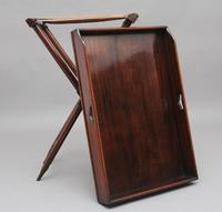 19th Century Mahogany Butlers Tray on Stand (10 of 10)
