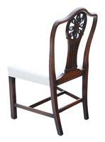 Set of 8 (6+2) Georgian Mahogany Dining Chairs c.1820 (10 of 10)