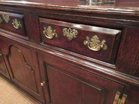Superb George II Period Antique Oak Dresser (5 of 7)