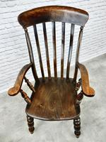 Large 'Grandfather' Windsor Armchair (3 of 6)