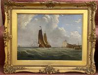 James Edwin Meadows - Attractive Pair of Marine Oil Paintings (2 of 6)