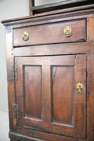 Antique Rustic English Country Kitchen Georgian Oak Dresser (4 of 12)