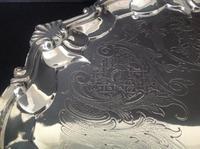 Paul Storr Antique Georgian Silver Salver - 1815 (5 of 6)