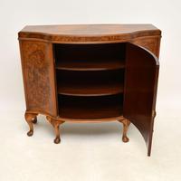 Antique Burr Walnut Cabinet / Sideboard (10 of 11)