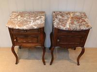 Pair Of French Walnut Bedside Cabinets (7 of 10)