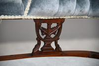 Victorian Upholstered Button Back Chaise Longue (5 of 11)