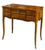 Suite of French Walnut & Floral Marquetry (2 of 20)