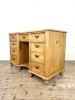 Victorian Antique Pine Sideboard with Drawers (7 of 11)