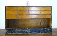 Vintage Black Painted Carpenters Tool Drawers (8 of 8)