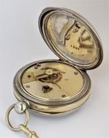 Vintage 1920s Swiss pocket watch & chain. (3 of 5)