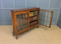 Burr Walnut Glazed Bookcase (13 of 14)